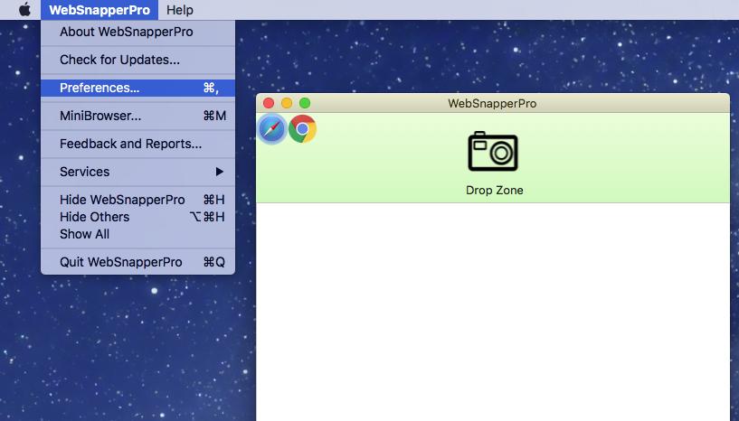 WebSnapperPro for Mac 2.0.1 注册版 – 网页快速捕捉工具-爱情守望者